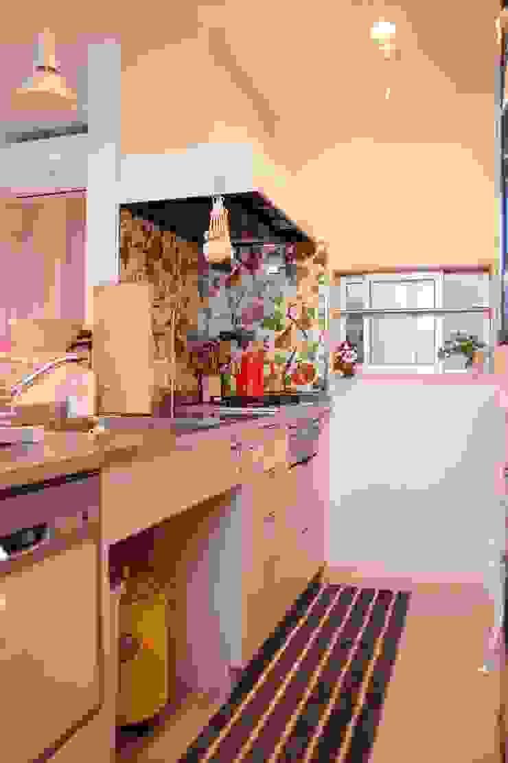 毎日が楽しくなるキッチン オリジナルデザインの キッチン の 池田デザイン室(一級建築士事務所) オリジナル