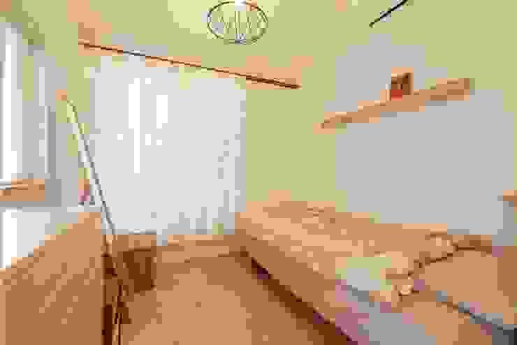 コンパクトだけどお気に入りの寝室 オリジナルスタイルの 寝室 の 池田デザイン室(一級建築士事務所) オリジナル