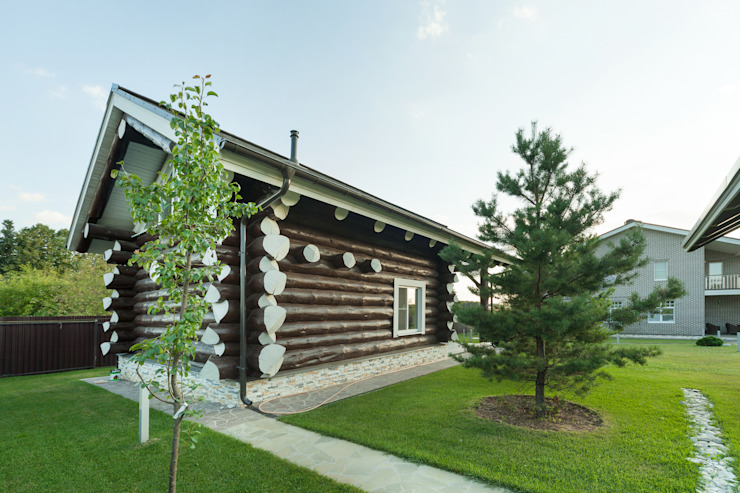 Rustic style house by Smart Wood Rustic