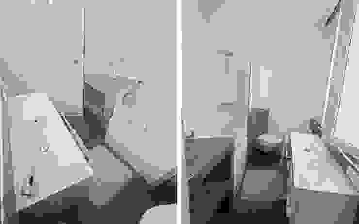 Ванные комнаты в . Автор – les bains et les cuisines d'Alexandre , Модерн
