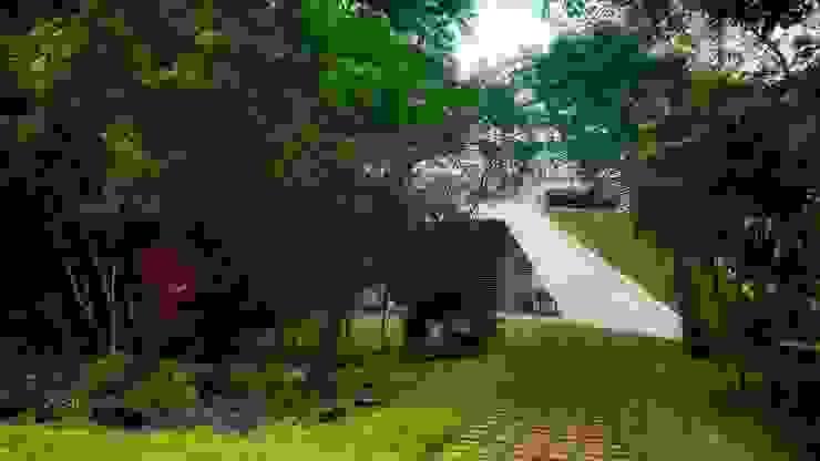 Jardines de estilo  de sanzpont [arquitectura], Moderno