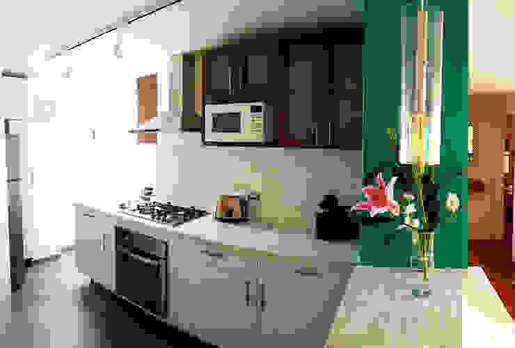 Cocina Magdalena Cocinas modernas de Diseño Distrito Federal Moderno