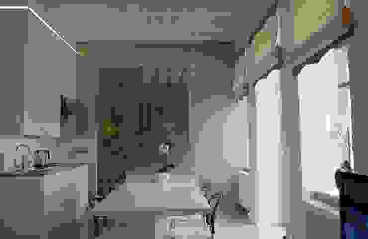 Apartament Cesarski Nowoczesne ściany i podłogi od Architektura Wnętrza Nowoczesny
