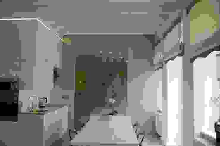 Apartament Cesarski Nowoczesna kuchnia od Architektura Wnętrza Nowoczesny