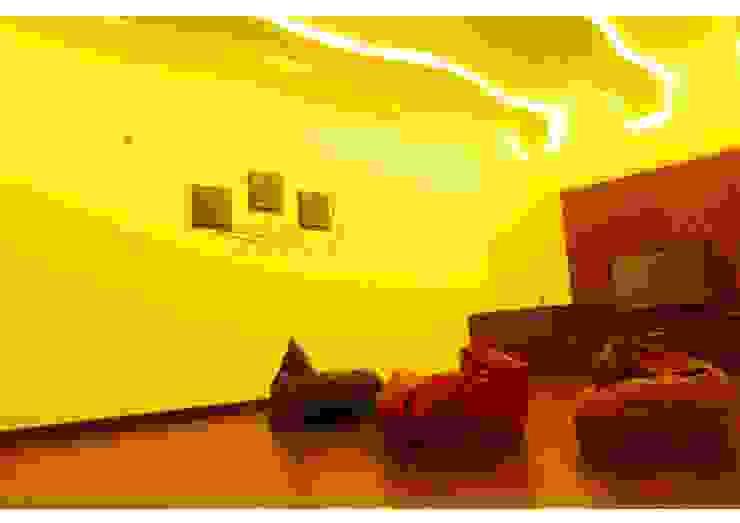 URBAN NEST Modern media room by Aadyam Design Studio Modern