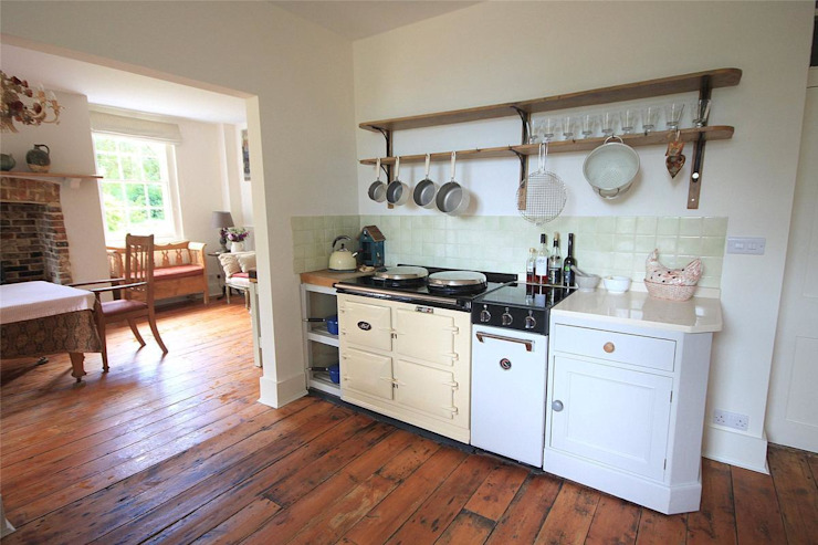 Country House in Tenterden Cocinas rurales de Bandon Interior Design Rural