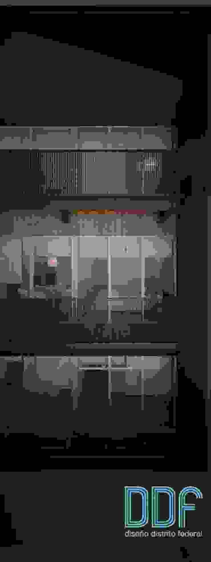 Querétaro Q3 Casas modernas de Diseño Distrito Federal Moderno