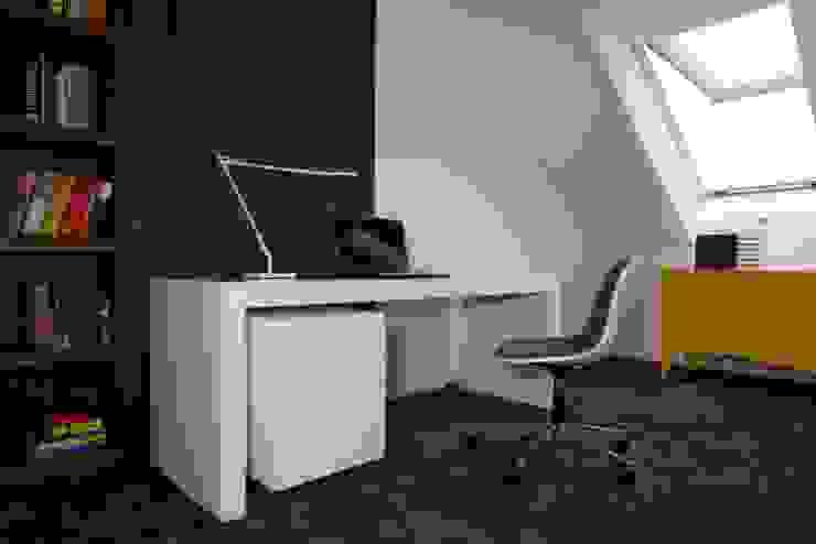 Innovative Simplicity Nowoczesna sypialnia od Fotograf wnetrz Dymitr Kalasznikow Nowoczesny
