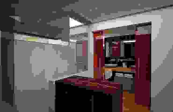 Casa Satélite 1 Baños modernos de Diseño Distrito Federal Moderno