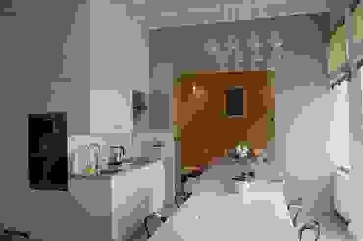 Apartament Cesarski Nowoczesna jadalnia od Architektura Wnętrza Nowoczesny