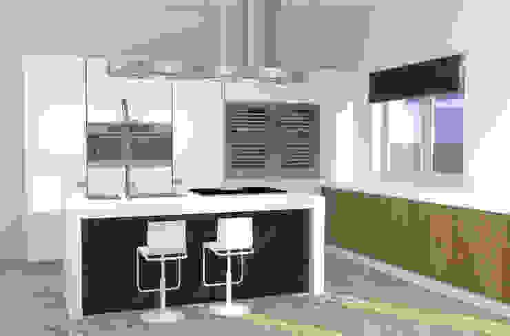 Valentina Cassader Modern kitchen