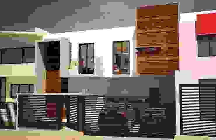 Casa Satélite 1 Casas modernas de Diseño Distrito Federal Moderno