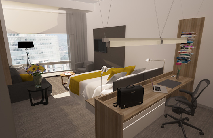 Presidente Intercontinental Santa Fé Hoteles de estilo moderno de Diseño Distrito Federal Moderno