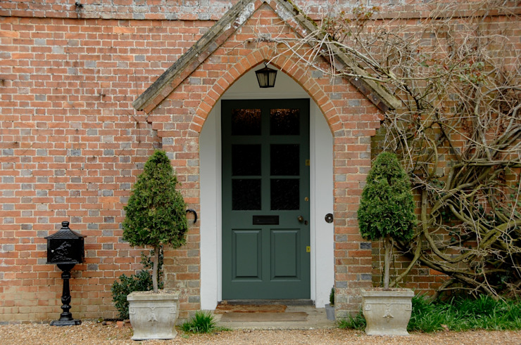 Entrance Door Maisons rurales par Bandon Interior Design Rural