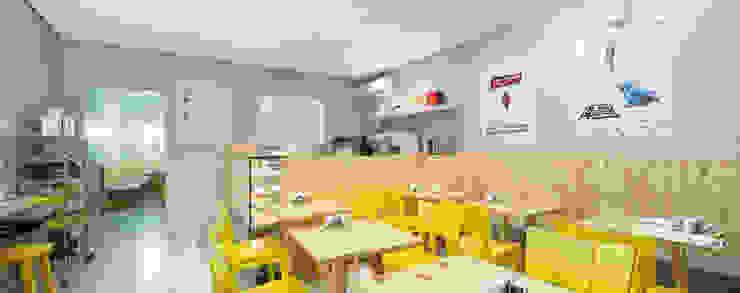 Restaurante - 2014 - Yami Café Espaços gastronômicos modernos por Kali Arquitetura Moderno
