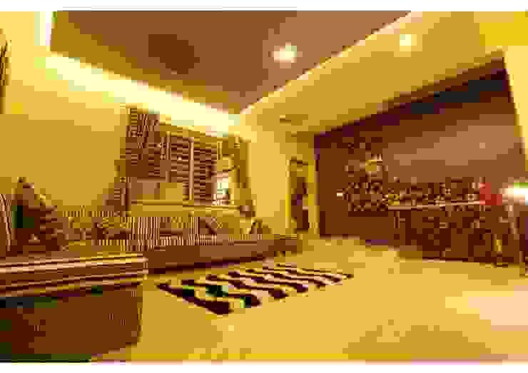 URBAN NEST Modern living room by Aadyam Design Studio Modern