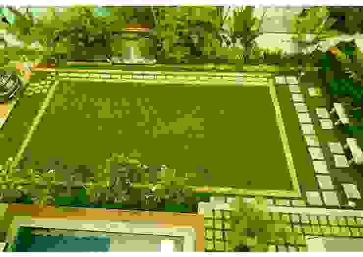 Vườn phong cách hiện đại bởi Aadyam Design Studio Hiện đại