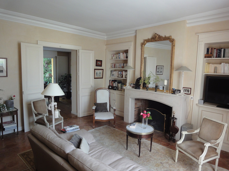 Ruang Keluarga Klasik Oleh Vincent Bonhomme Klasik