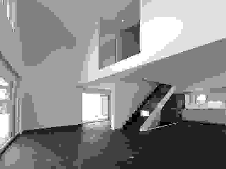 Einfamilienhäuser Weizenacher, Zumikon Moderne Wohnzimmer von René Schmid Architekten AG Modern