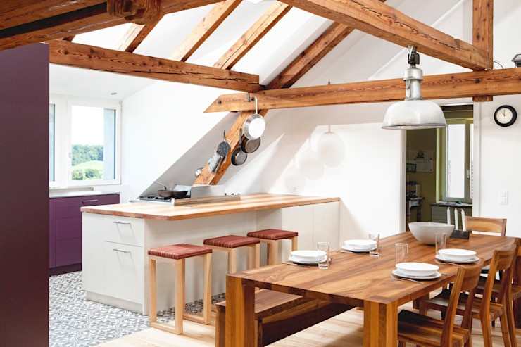 Rustic style kitchen by | o.ho | die möbelschreinerei Rustic