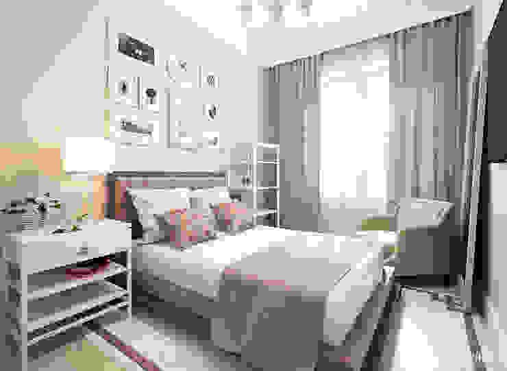 Холодная гора Спальня в эклектичном стиле от Prosvirin Ruslan Эклектичный