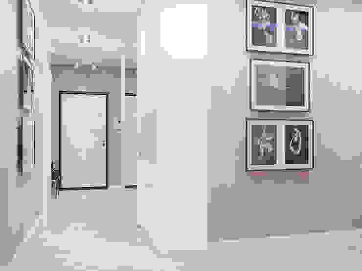 Z E T W I X Modern corridor, hallway & stairs