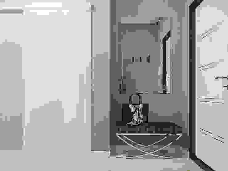 WHITE COFFEE Коридор, прихожая и лестница в модерн стиле от Z E T W I X Модерн