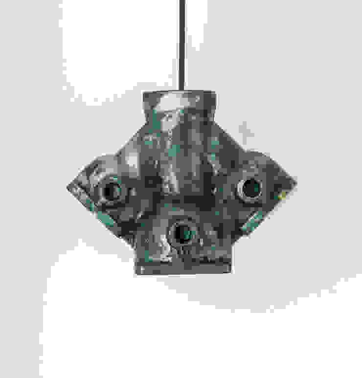 DI 03 od Firelamps Industrialny Aluminium/Cynk