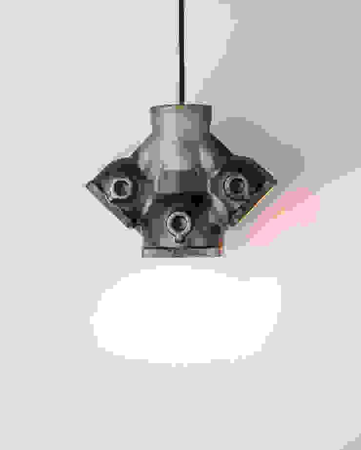 DI 04 od Firelamps Industrialny Aluminium/Cynk