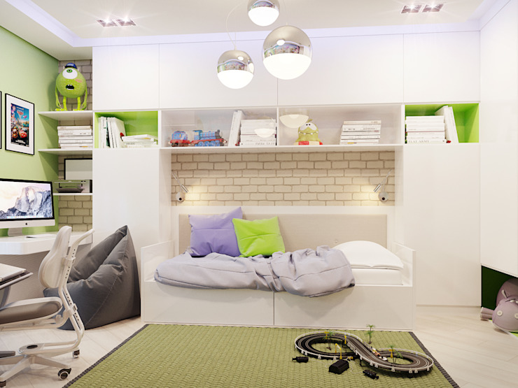 Z E T W I X Modern nursery/kids room