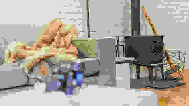 Salon - koza: styl , w kategorii Salon zaprojektowany przez DoMilimetra,Nowoczesny Żelazo/Stal