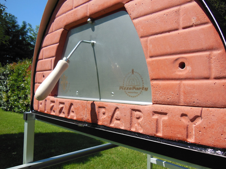 Wood fired oven Pizzone by Pizza Party 100% made inItaly Tuscany! de Pizza Party Rústico