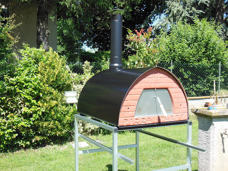 Wood fired pizza oven Pizzone by Pizza Party Genotema SRL Unipersonale СадВогонь ями і барбекю