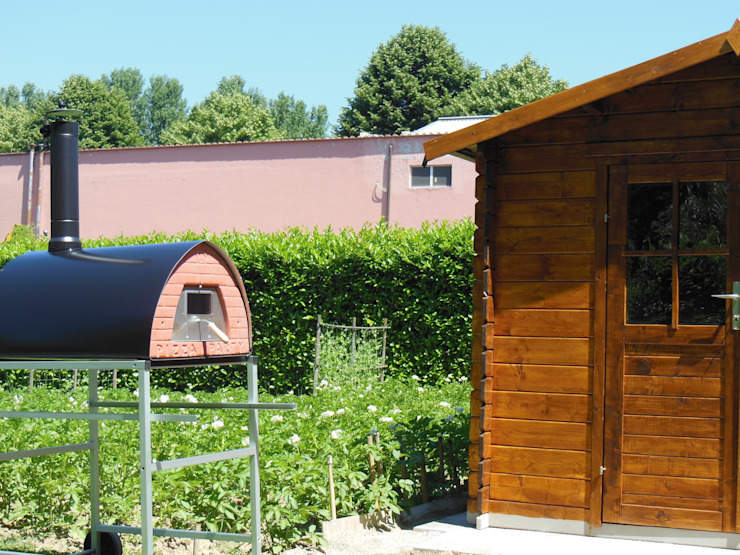 Wood fired oven Pizzone indoor or outdoor placement de Pizza Party Rústico