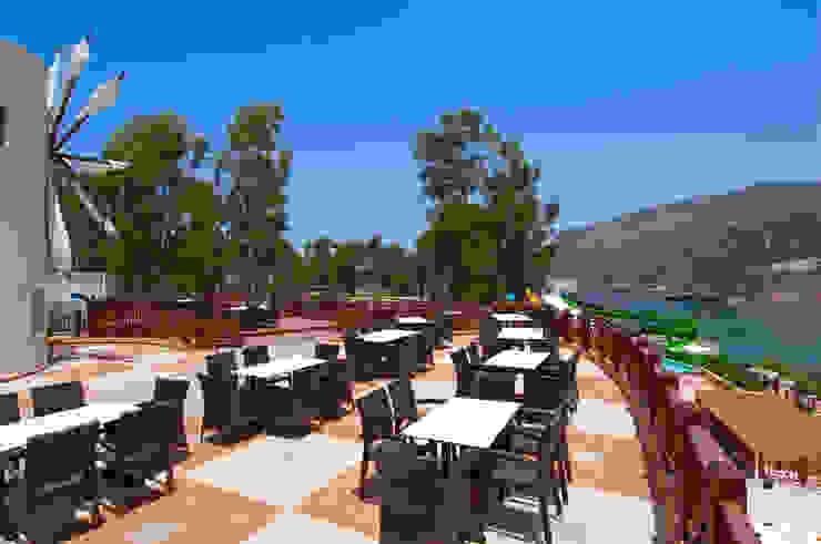Funny Water Aquapark Restoranı Modern Oteller Palmiye Peyzaj Mimarlık Modern