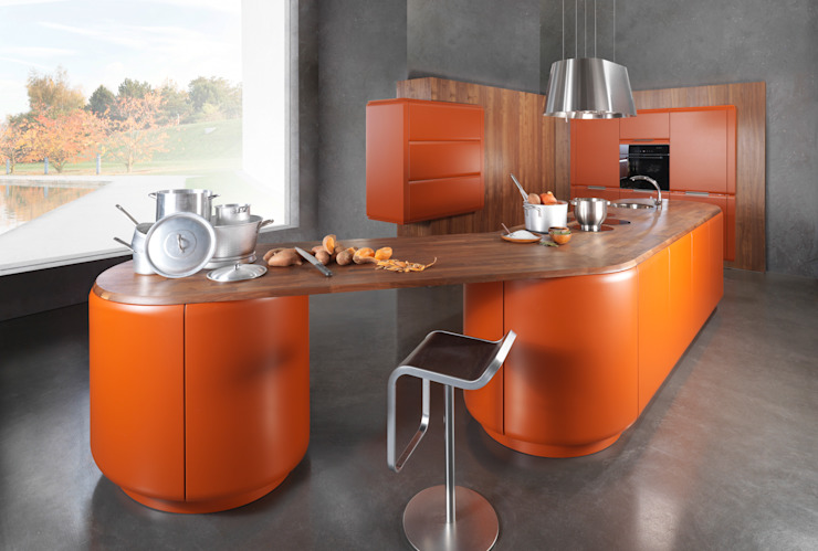 Eclectic style kitchen by Dick Küchen Eclectic