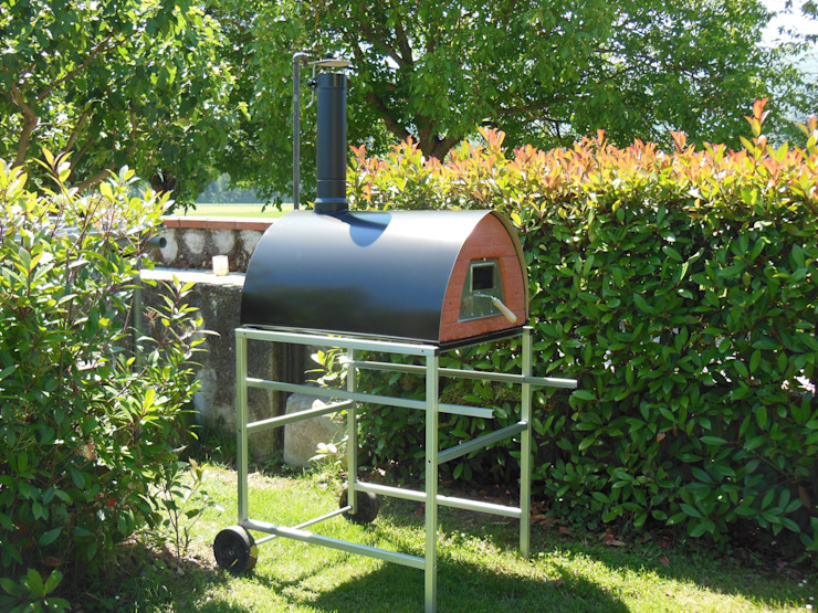 Wood fired pizza oven Pizzone and more accessories de Pizza Party Rústico