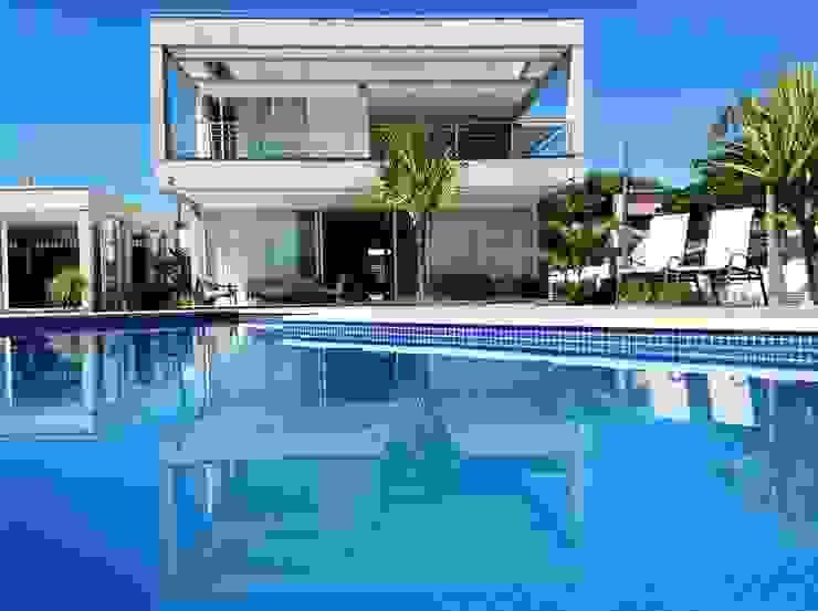 Casa CSP Piscinas modernas por PJV Arquitetura Moderno