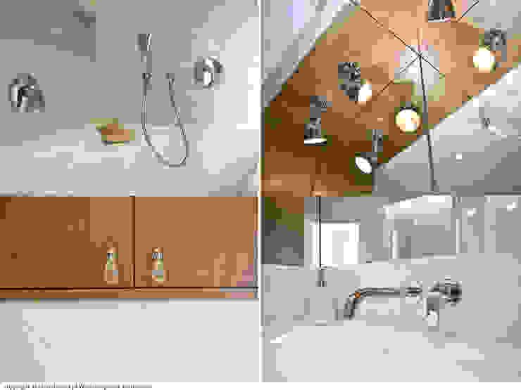 Łazienka - detal Minimalistyczna łazienka od DoMilimetra Minimalistyczny