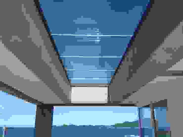 Casa CSP Varandas, alpendres e terraços modernos por PJV Arquitetura Moderno