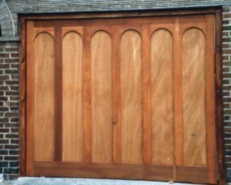 Garage Door made from Timber The Garage Door Centre Limited Garages & sheds