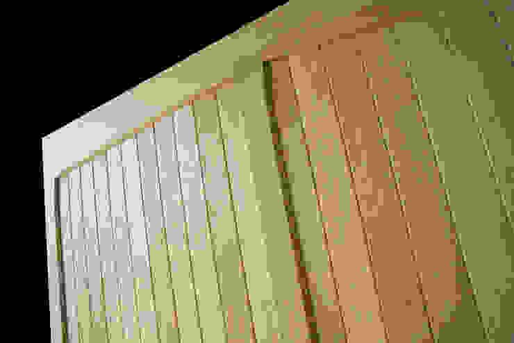 Garage Door being built out of timber The Garage Door Centre Limited 倉庫/儲藏間