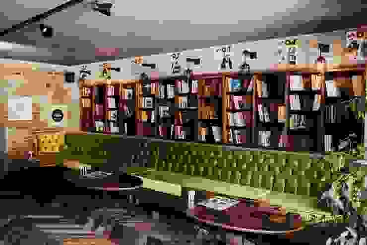 CO Mimarlık Dekorasyon İnşaat ve Dış Tic. Ltd. Şti. – OT Cafe:  tarz Duvarlar,