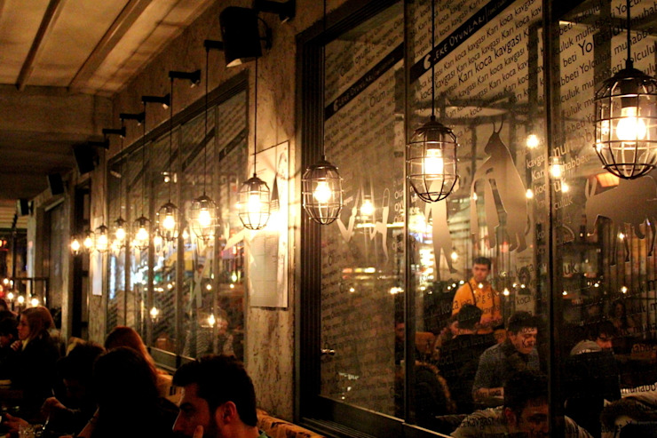 OT Cafe Endüstriyel Duvar & Zemin CO Mimarlık Dekorasyon İnşaat ve Dış Tic. Ltd. Şti. Endüstriyel