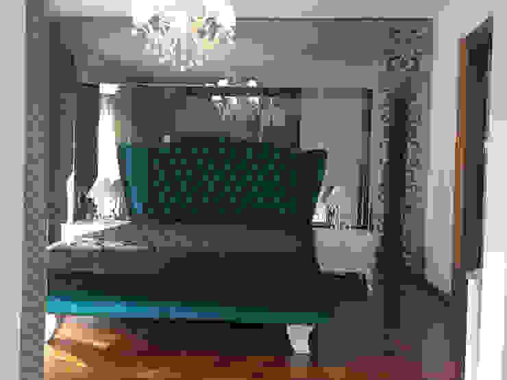 Camera da letto moderna di homify Moderno