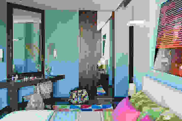 Camera da letto di PDV studio di progettazione Eclettico
