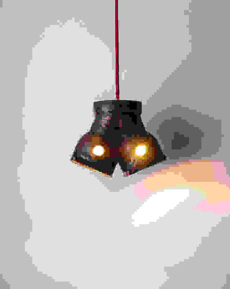 DI 06 od Firelamps Industrialny Aluminium/Cynk
