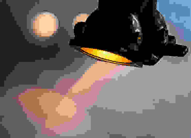 DI 06 (detail) od Firelamps Industrialny Aluminium/Cynk