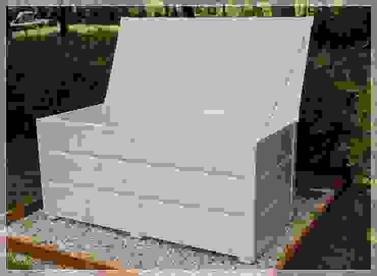 Skrzynia, kufer, ławka na taras lub balkon od MT WoOD Klasyczny