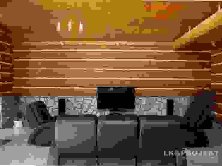 LK&684 Nowoczesny salon od LK & Projekt Sp. z o.o. Nowoczesny